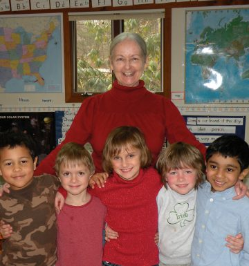 Peggy CoZi teacher at Sugarwood School